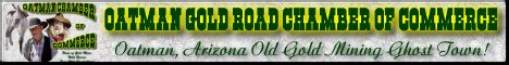 Oatman Gold Road Chamber of Commerce banner jpg